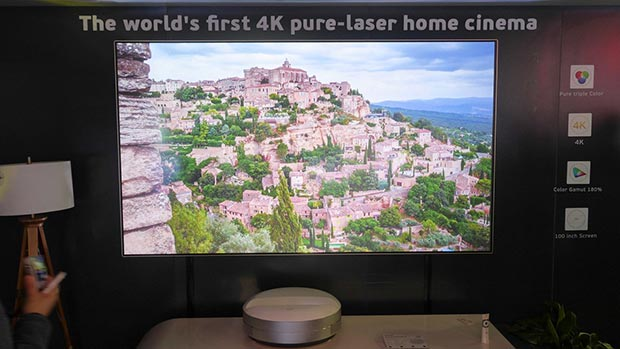 changhong laser rgb - Changhong: proiettore Laser RGB 4K a tiro ultra-corto