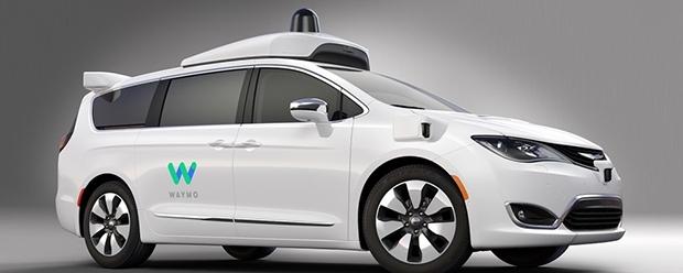 fca waymo - Fiat Chrysler fornirà auto per i taxi a guida autonoma di Waymo