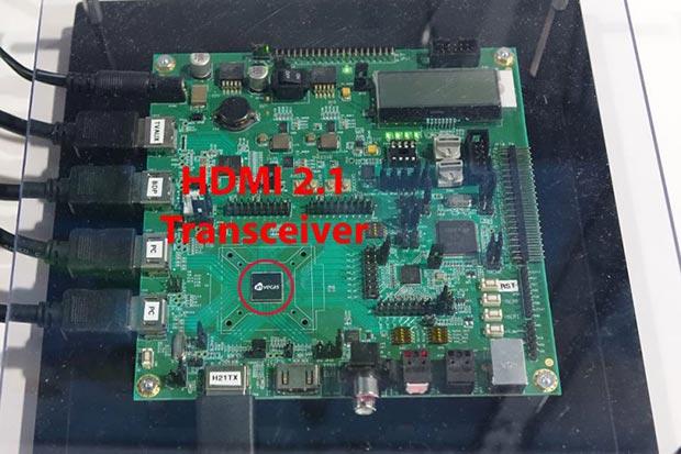 hdmi 2.1 - Il primo chip HDMI 2.1 mostrato al CES