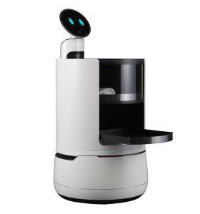 "lg CLOi robot 3 04 01 18 280x300 - LG CLOi: nuovi Robot ""camerieri"" presentati al CES 2018"