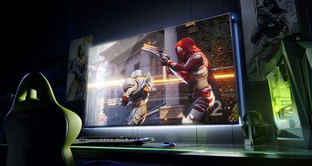 nvidia bfgd evi 08 01 18 - Nvidia BFGD: monitor gaming HDR, G-Sync e Shield TV da 65 pollici