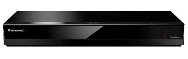 panasonicub420 07 01 18 - Panasonic UB820: lettore UHD Blu-ray Dolby Vision e HDR10+
