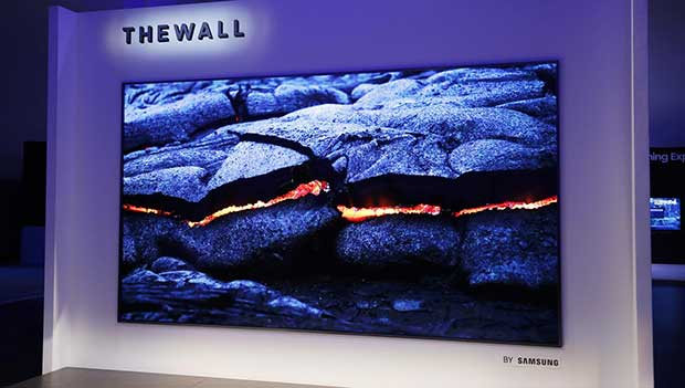 "samsung thewall 1 08 01 18 - Samsung ""The Wall"" microLED da 146 pollici in vendita da Agosto"