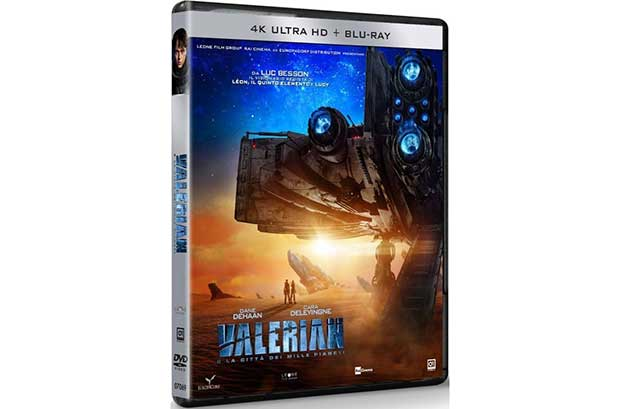 valerian 4k 1 04 01 18 - Valerian: Blu-ray italiani senza 3D e Ultra HD Blu-ray senza HDR!