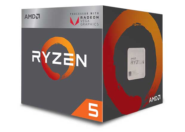 amd ryzen 5 - AMD Ryzen 5 2400G e Ryzen 3 2200G: APU con CPU Zen e GPU Vega