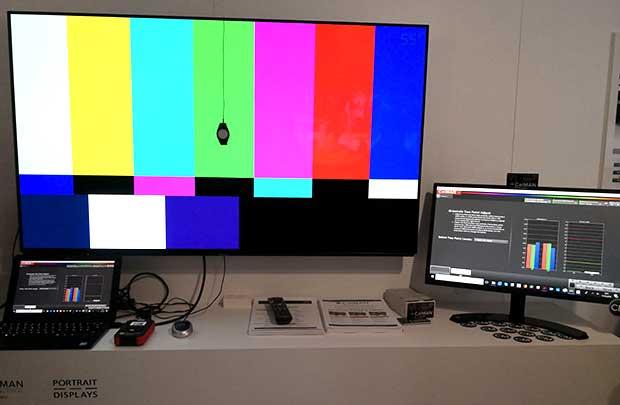 calman oled panasonic - Gamma TV Panasonic 2018: 2 OLED e 4 serie LCD 4K e HDR