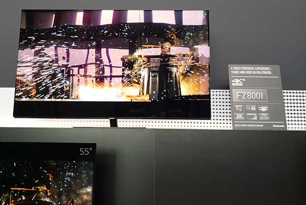 fz800 - Gamma TV Panasonic 2018: 2 OLED e 4 serie LCD 4K e HDR