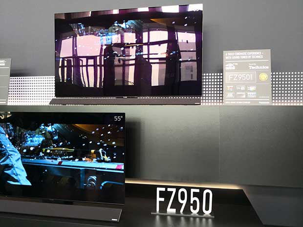 fz950 - Panasonic FZ950: TV OLED Ultra HD disponibili in Italia