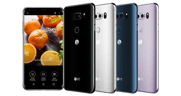 lg v30 AI evi - LG: smartphone V30 2018 con intelligenza artificiale al MWC