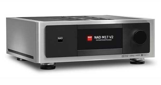 nad M17 v2 evi - NAD M17 V2: pre-processore audio 11.1 modulare