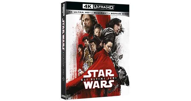 starwars ultimijedi 1 21 02 18 - Star Wars - Gli Ultimi Jedi in 4K Blu-ray e Bluray dall'11 aprile