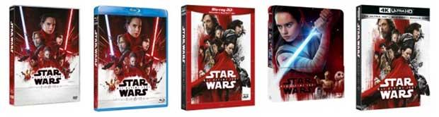 starwars ultimijedi 2 21 02 18 - Star Wars - Gli Ultimi Jedi in 4K Blu-ray e Bluray dall'11 aprile