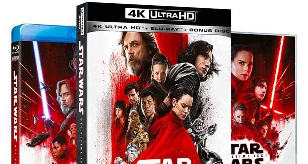 starwars ultimijedi evi 21 02 18 - Star Wars - Gli Ultimi Jedi in 4K Blu-ray e Bluray dall'11 aprile