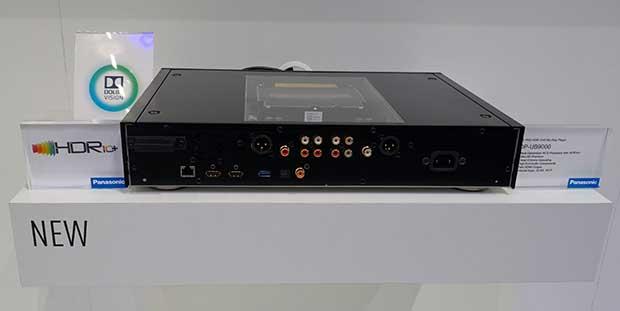 ub9000 2 - Panasonic UB9000: lettore Ultra HD Blu-ray con Dolby Vision e HDR10+