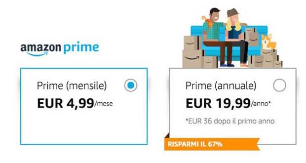 amazon prime 1 21 03 18 - Amazon Prime: dal 4 aprile 2018 aumenta a 36 Euro / anno
