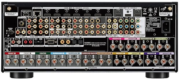 denon avc x8500h - Denon AVC-X8500H: ampli 13.2 con eARC disponibile in Italia