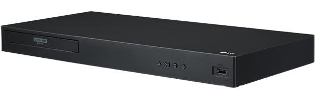 lg ubk90 - LG UBK90 e UBK80: nuovi lettori Ultra HD Blu-ray