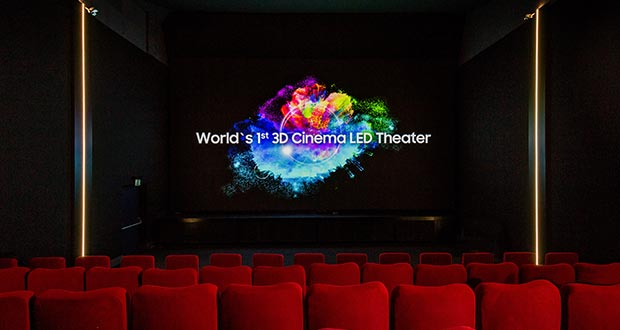samsung 3d cinema led - Samsung 3D Cinema LED: prima sala in Svizzera
