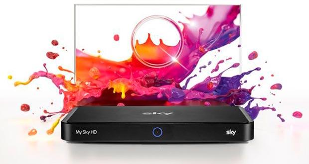 sky q black - I decoder My Sky Humax ESi-160 diventeranno Sky Q Black
