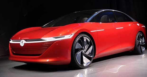 vw vizzion 1 07 03 18 - Volkswagen Vizzion: auto 100% autonoma ed elettrica entro il 2025