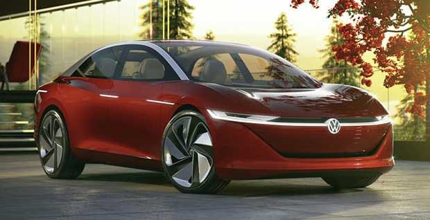 vw vizzion 2 07 03 18 - Volkswagen Vizzion: auto 100% autonoma ed elettrica entro il 2025