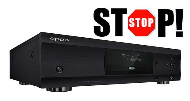 oppo addio 03 04 18 - Oppo: Addio a nuovi prodotti e lettori Ultra HD Blu-ray