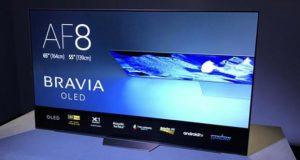 sony af8 evi 300x160 - TV OLED Sony AF8 con Dolby Vision prenotabili da 2.499 Euro