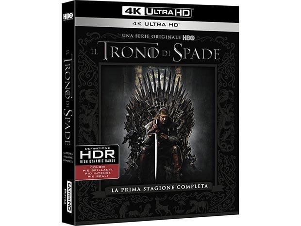 trono spade uhd bluray - Il Trono di Spade: stagione 1 su UHD Blu-ray il 7 giugno