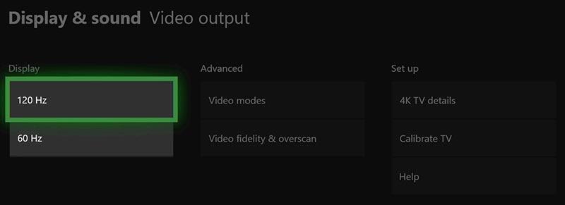 xbox one 120hz - Microsoft aggiorna Xbox One con HFR a 120Hz
