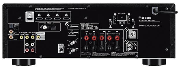 yamaha rxv385 - Yamaha RX-V385: sintoamplificatore 5.1 con eARC
