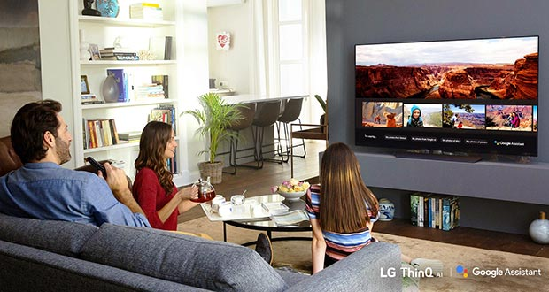 lg google assistant evi - Google Assistant è disponibile sulle TV LG 2018 con ThinQ AI