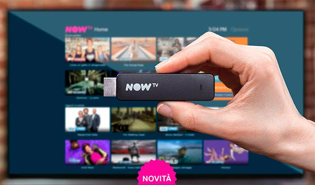 now tv - NOW TV evolve e arriva sulla nuova Smart Stick