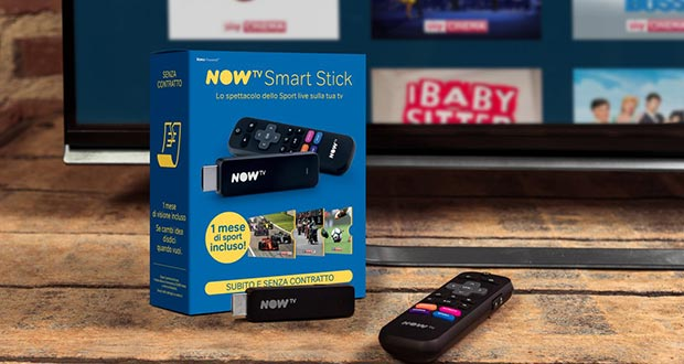 now tv evi - NOW TV evolve e arriva sulla nuova Smart Stick