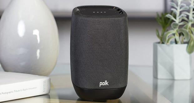 "polk assist speaker assistant.evi  - Polk Assist: speaker ""smart"" con Chromecast e Google Assistant"