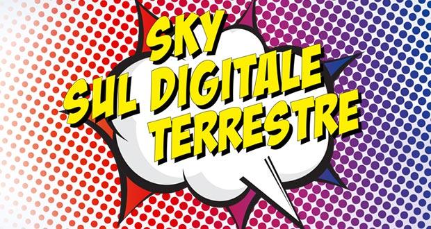 sky digitale terrestre evi - Sky arriverà sul digitale terrestre dal 5 giugno