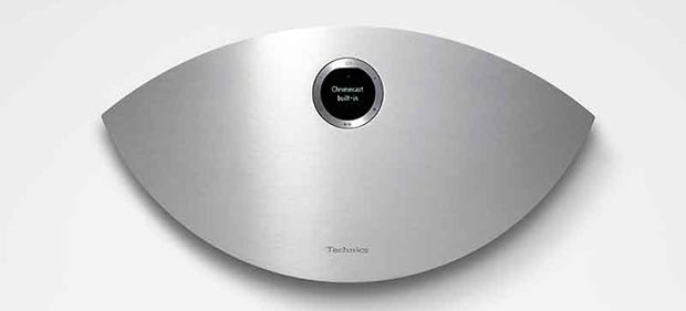 technics sc c50 2 - Technics Ottava S SC-C50: speaker wireless con Chromecast integrato