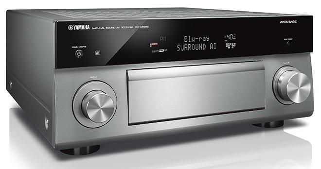 yamaha rx a80 2 - Yamaha Aventage RX-A 80: ampli home cinema MusicCast
