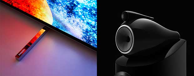 Philips B W 1 19 06 18 - Tp Vision e B&W: partnership per TV Philips con super audio