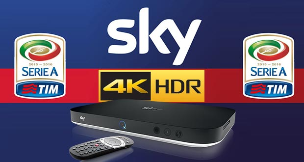 sky serie a 4k hdr - Sky: la Serie A di calcio 2018 - 2021 in 4K e HDR