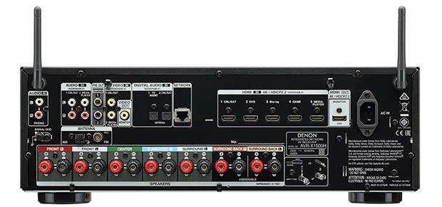 denon x1500h 2 - Denon AVR-X1500H e AVR-X2500H: ampli 7.2 con AirPlay 2