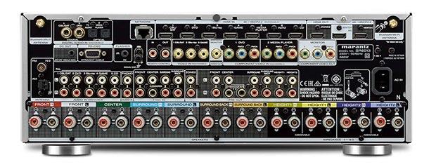 marantz sr6013 retro - Marantz SR5103 e SR6013: ampli 7.2 e 9.2 con AirPlay 2