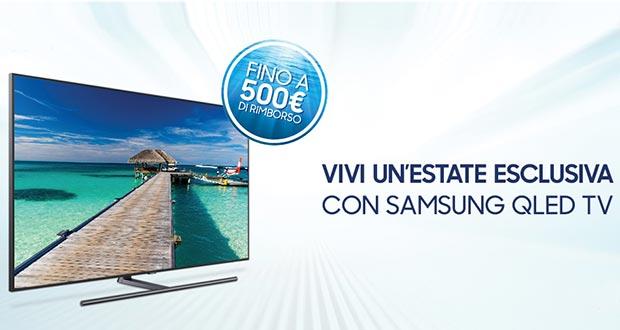 samsung promo - Samsung: fino a 500 Euro in rimborsi acquistando una TV 2018