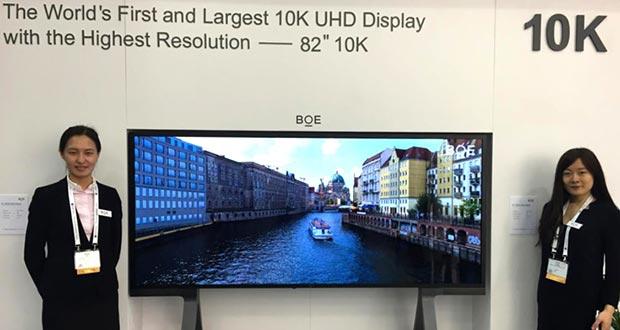 boe primo produttore pannelli tv - BOE è il primo produttore di pannelli TV al mondo