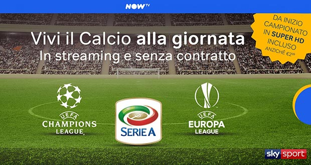 now tv super hd - NOW TV: sport in Super HD a partire dal 18 agosto