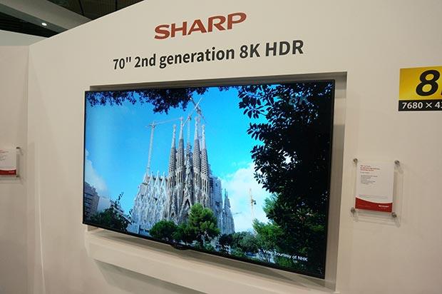sharp 8k - Sharp: 2° generazione di TV LCD 8K in arrivo