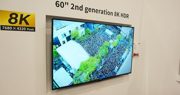 sharp 8k evi - Sharp: 2° generazione di TV LCD 8K in arrivo