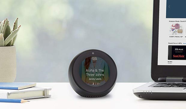 echo spot - Amazon porta gli speaker Echo e l'assistente Alexa in Italia