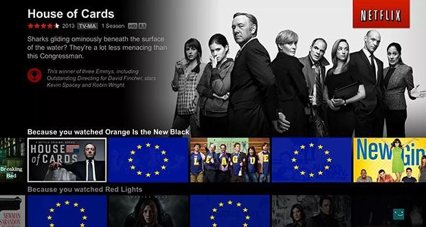 eu 30 percento - L'Europa impone il 30% di contenuti europei ai servizi in streaming