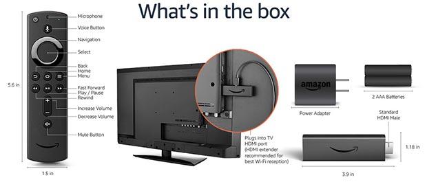 fire tv stick 4k - Amazon Fire TV Stick 4K: dongle HDMI HDR10+, HLG e Dolby Vision