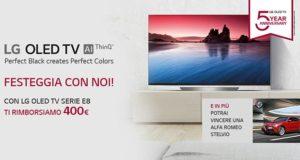 lg promo oled e8 300x160 - LG rimborsa 400 Euro con l'acquisto di un OLED E8